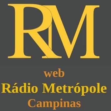Web Rádio Metrópole Campinas poster