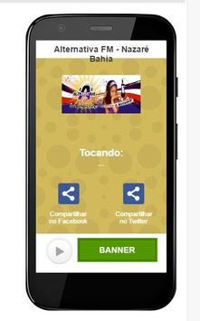 Alternativa FM - Nazaré Bahia screenshot 1