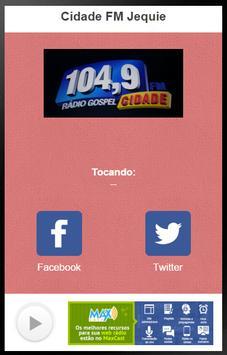 Cidade FM Jequié poster