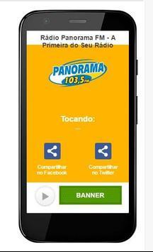 Rádio Panorama FM poster
