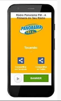 Rádio Panorama FM apk screenshot