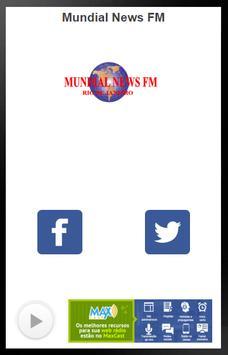 Mundial News FM screenshot 1