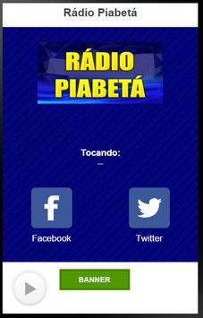Rádio Piabetá poster