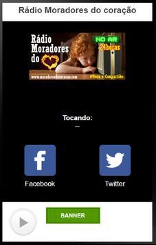 Rádio Moradores do coração screenshot 1