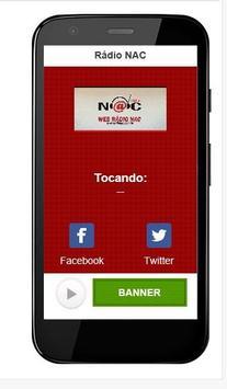 Rádio NAC poster