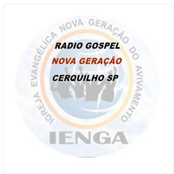 RADIO GOSPEL NOVA GERAÇÃO poster