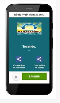 Rádio Web Manacapuru apk screenshot