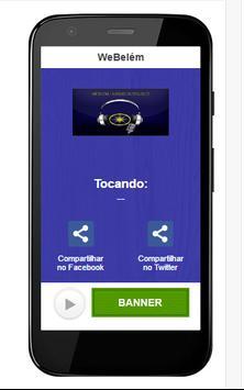 Rádio WeBelém screenshot 1