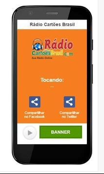 Rádio Cartões Brasil poster