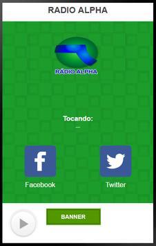 RADIO ALPHA screenshot 1