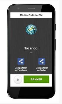 Rádio Cidade FM apk screenshot