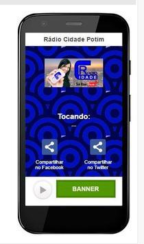 Rádio Cidade Potim apk screenshot
