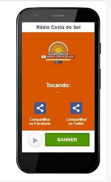 Rádio Costa do Sol screenshot 1