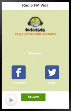 Rádio FM Vida screenshot 1