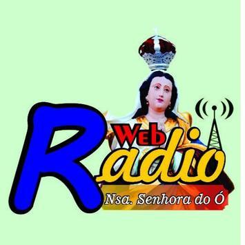 Web Rádio Nossa Senhora do Ó poster