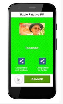Rádio Patativa FM apk screenshot