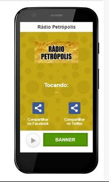 Rádio Petrópolis poster