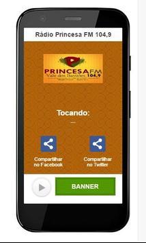 Radio Princesa FM 104,9 poster