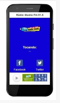 Rádio Studio Fm 91.5 screenshot 1