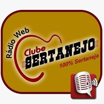 Rádio Web Clube Sertanejo poster