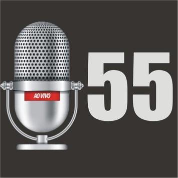 Rádio 55 - A Força do Povo apk screenshot