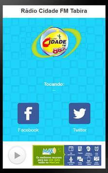 Rádio Cidade FM Tabira poster