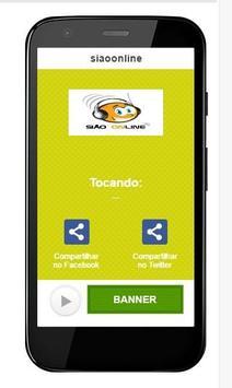Rádio Sião Online poster