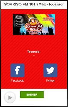 SORRISO FM 104,9Mhz poster