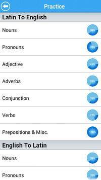 GCSE Latin Vocab - OCR Lite apk screenshot
