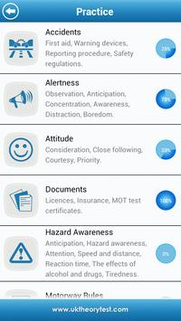 UK Motorcycle Theory Test Lite apk screenshot