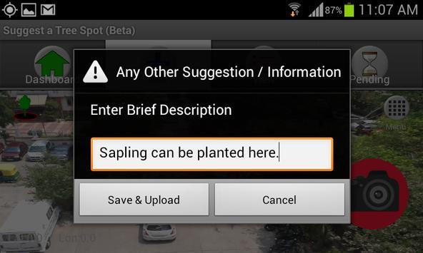 Suggest a Tree Spot apk screenshot