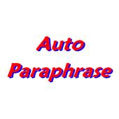 auto paraphrase