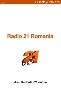 Radio 21 Romania Online poster