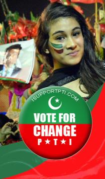 PTI Stickers - Banners poster
