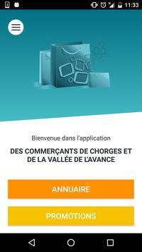 Chorges et Vallée de l'Avance poster