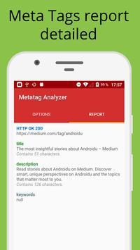 Metatag Analyzer imagem de tela 1