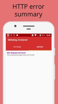 Metatag Analyzer imagem de tela 2