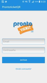 Prontoticket QR poster