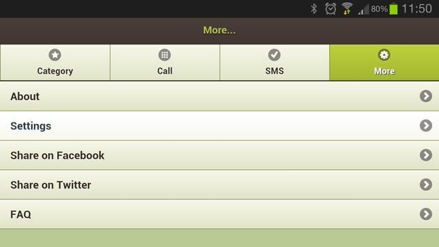 DND Manager TRAI Spam Blocker screenshot 1