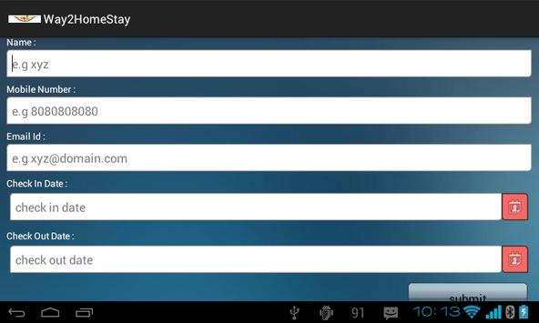 way2homestay apk screenshot
