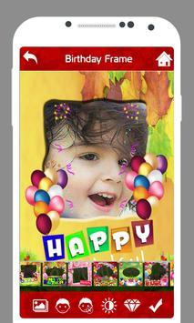 Birthday Photo Frame apk screenshot