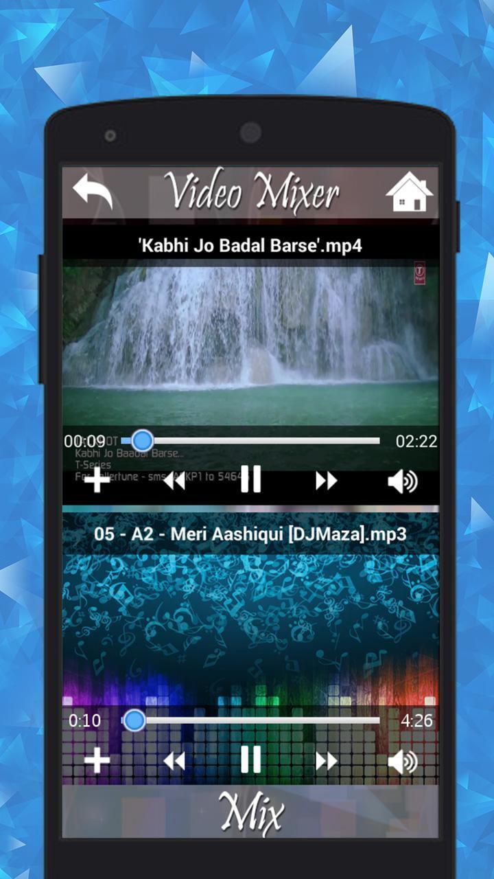 Video mp3 mixer apk download | Audio Video Mixer, Video to