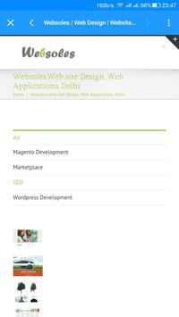 Websoles apk screenshot