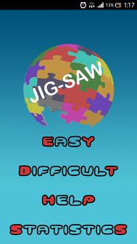 Jig-Saw - fun puzzle game poster
