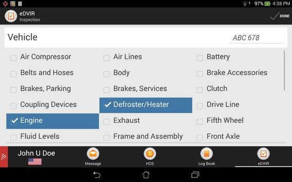 AT&T FDC eDVIR for SECTOR apk screenshot