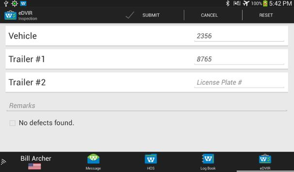 Webtech Driver Center Logbook screenshot 4