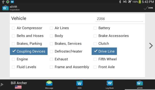 Webtech Driver Center Logbook screenshot 5