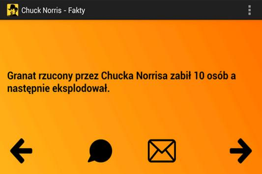 Chuck Norris - Fakty screenshot 1