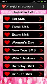 Love SMS screenshot 2