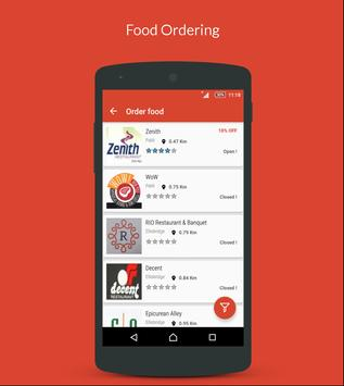 WebTreats-Get Food Online screenshot 1